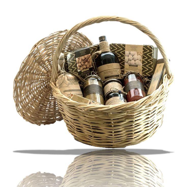 Εμφάνιση  λεπτομερειών Holiday Gift  Basket 10 items Navarino Icons
