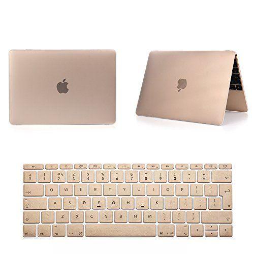 PANMARI Laptop Case Notebook Sleeve givré mat Or Champagne Pro 13 15 11 13 Air Retina 13 15 Coque de protection Pour les cas Macbook, Air 11inch, Gold
