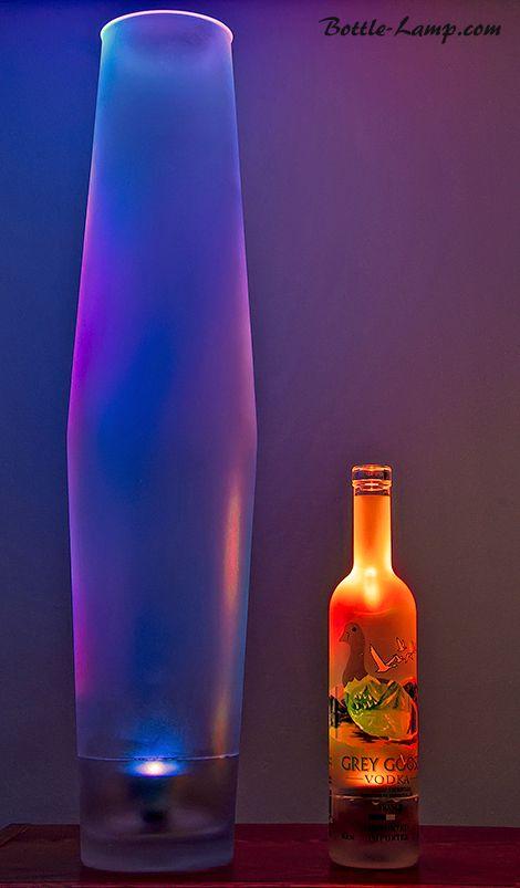 1000 images about bottle crafts on pinterest bottle for Alcohol bottles made into glasses