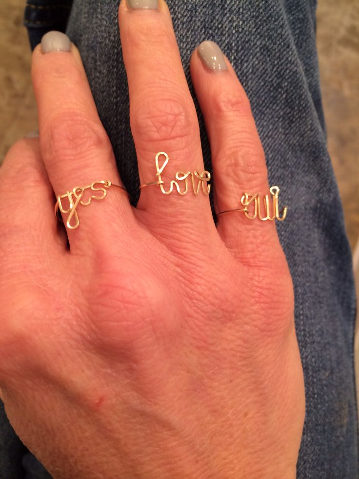 Love Love! These gorgeous rings from byphilippe!