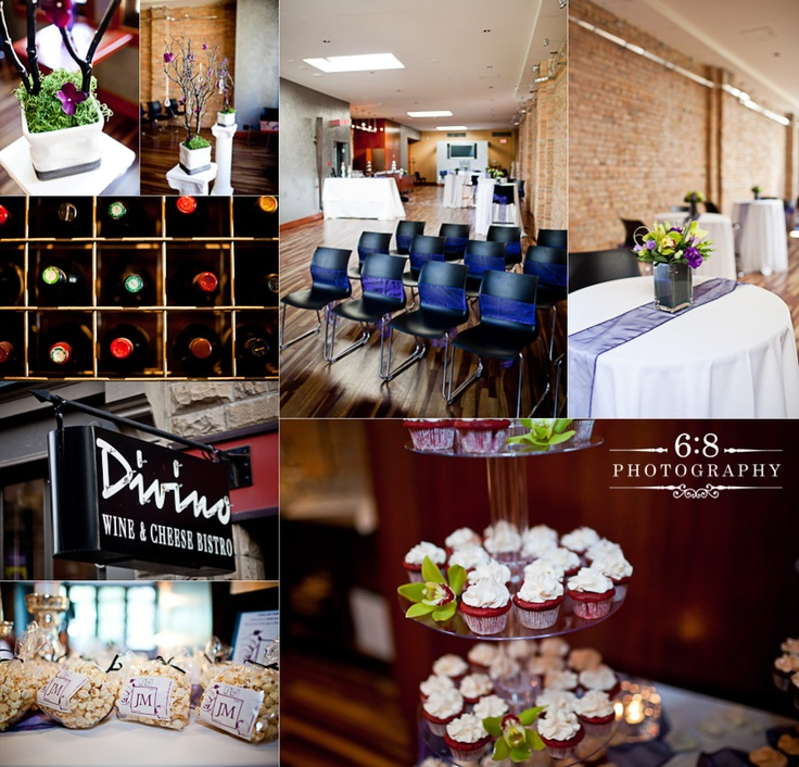 Divino Wine and Cheese Bistro - Calgary. http://68photography.ca/2011/08/melissajoshwedding/