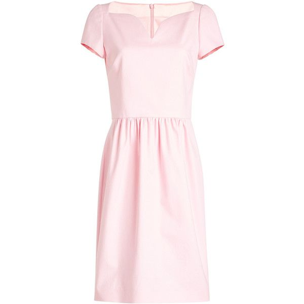 Boutique Moschino Cotton Dress (11 220 UAH) ❤ liked on Polyvore featuring dresses, pink, cotton dress, pale pink dresses, boutique moschino dress, boutique moschino and pink dress