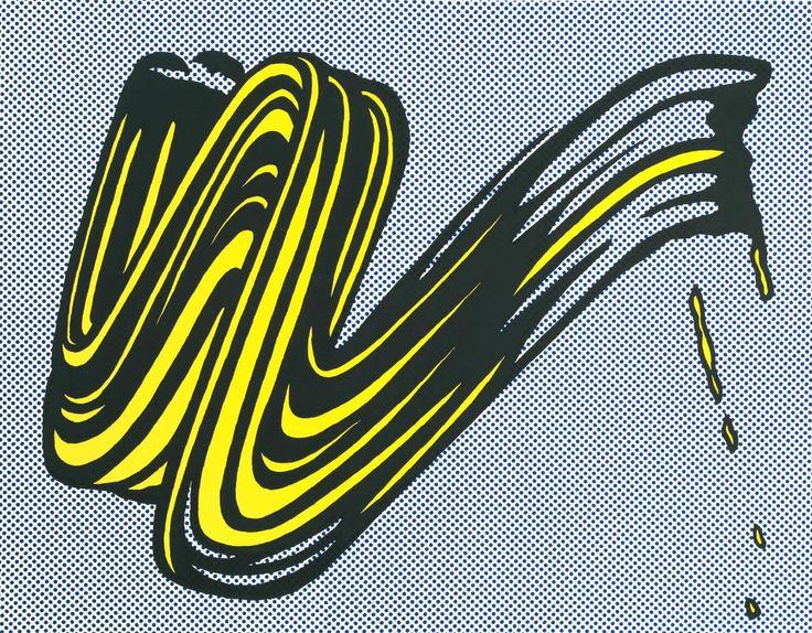 Roy Lichtenstein 'Brushstroke', 1965 © Estate of Roy Lichtenstein