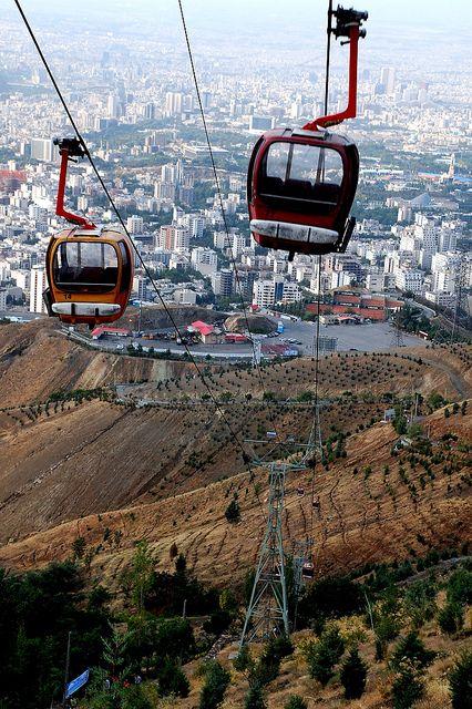 Tocha Telecabin Tehran -   I missed this last time in Tehran!!!