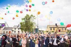 Luftballon steigen lassen Hochzeit