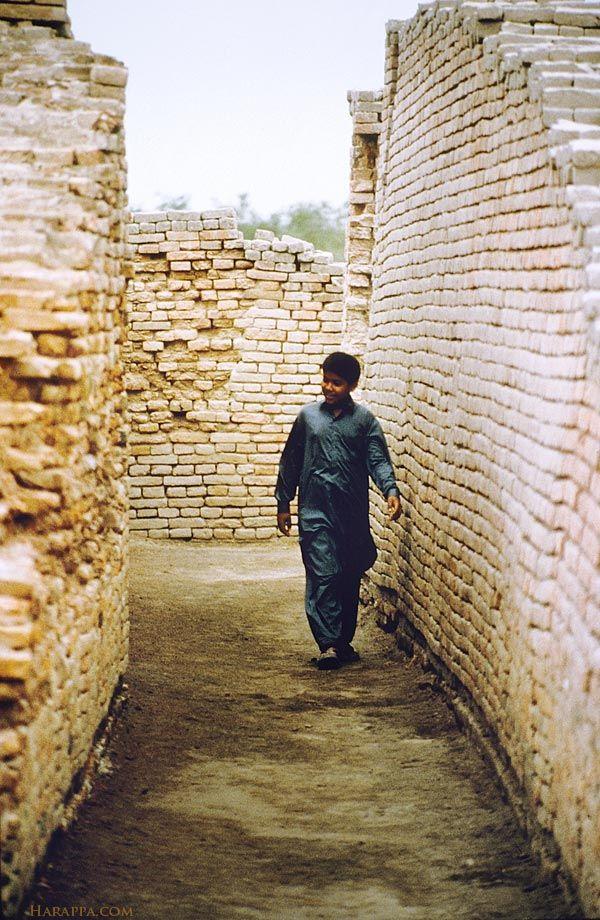 Indus Valley Civilization: Street, Mohenjo-daro                              …