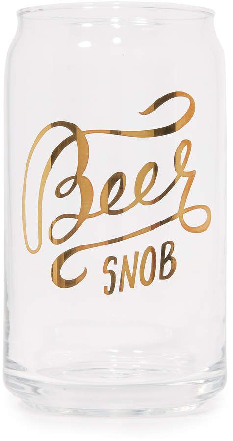 Gift Boutique Beer Snob Glass