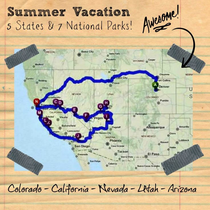 This Trip Itinerary Is One That We Did In The Summer Of