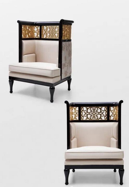 779 best images about upholstered chairs on pinterest for Chinese style sofa