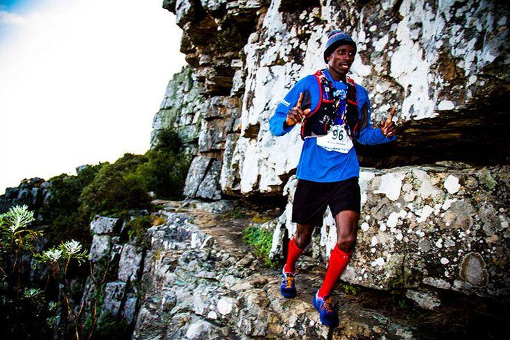 Rukadza, Greyling on top at Beast Trail Run . www.time-to-run.co.za