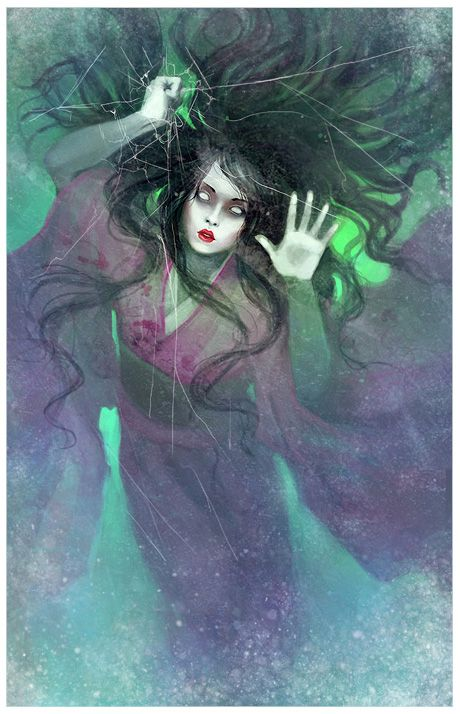Yuki-Onna by DrawingNightmare.deviantart.com on ...