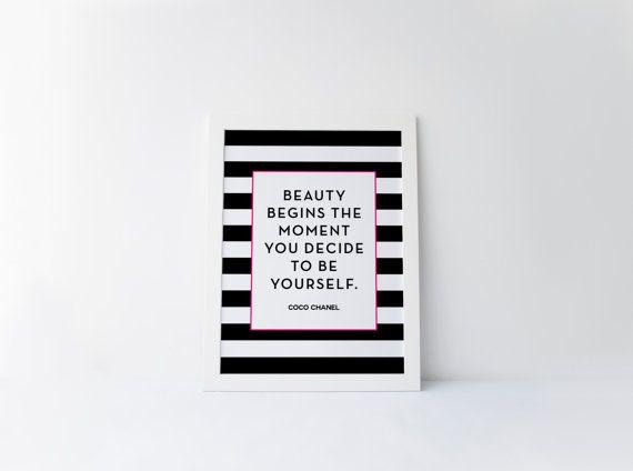 Sii te stesso bellezza inizia momento decidete di RainCityDesignCo