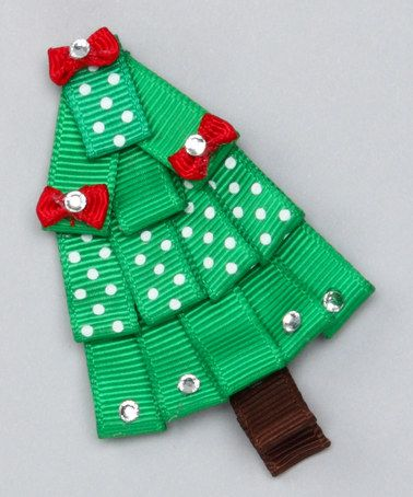 This Green Pine Tree Clip is perfect! #zulilyfinds
