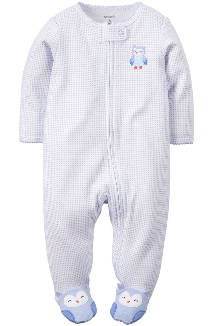 Amazon.com: Carter's Baby Girls' Cotton Sleep & Play: Clothing