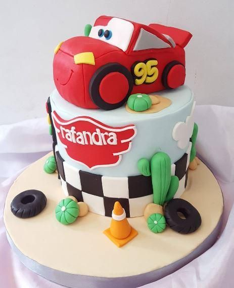 The Party Project | Cars birthday cake ideas!