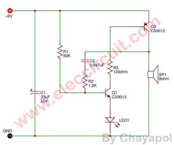 Blinking Led Circuit Using A Relay Led Tube Light Circuit Led
