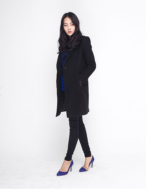 WOOL FLANNEL SINGLE COAT http://arcloset.com/product_view.php?gs_idx=OU140006CT
