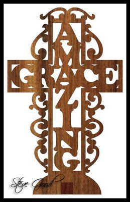 celtic cross scroll saw patterns free | amazing grace how sweet the sound that saved a wretch like me i once ...