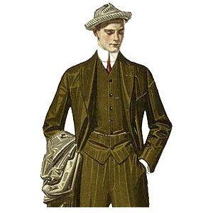 early 1900s fashion men - photo #31