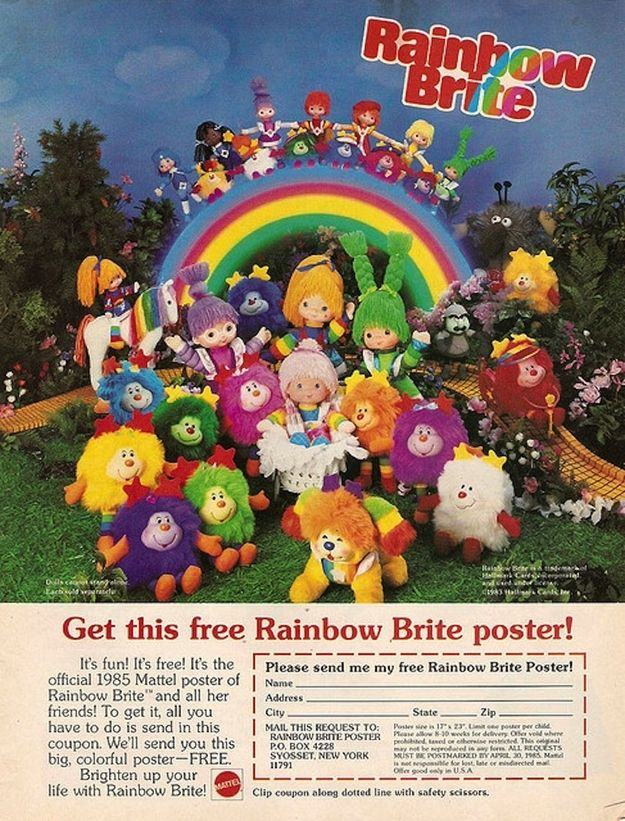 10 Absolute Best Girl Toys from the 1980s..... its all my favorite toys in one spot!!
