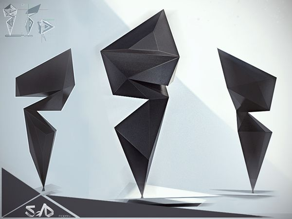 Trophy design  by Facundo Castellano, via Behance
