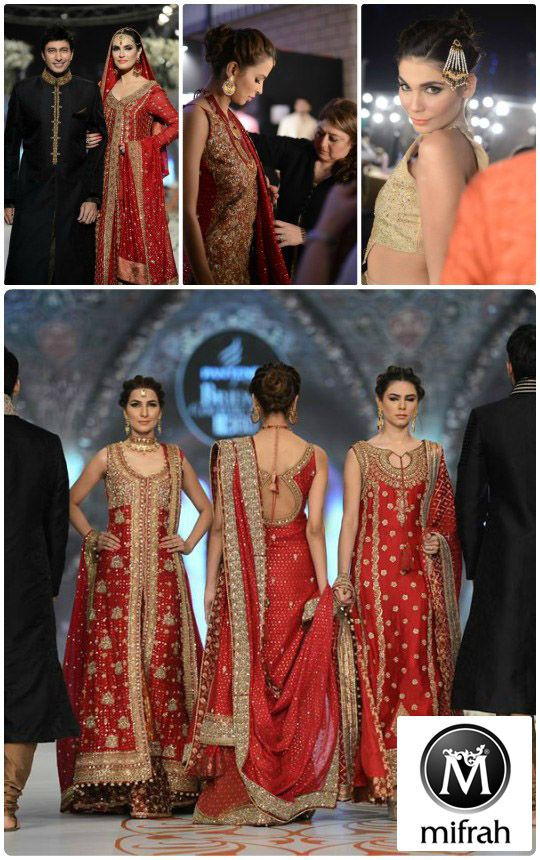 You simply can't go wrong with a traditional vintage red for bridal season and topping the list for the most exquisite rich red  bridals this season is Mifrahs with their latest A/W 2014 collection showcased at Bridal Couture Week. Through all the twists and turns of couture fashion, it still remains the most prevalent choice [...]