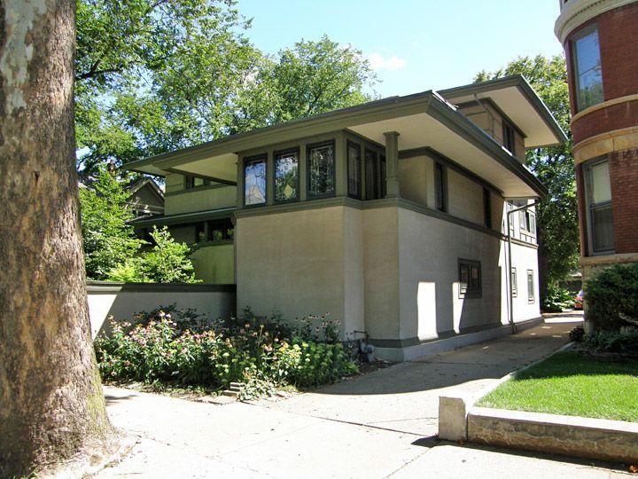 Frank Lloyd Wright Designed Homes In Oak Park, Illinois   Travel Photos By  Galen R Frysinger, Sheboygan, Wisconsin