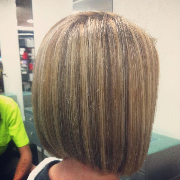 Blonde restyle concave bob. | Salon Vogue hair | Pinterest ...