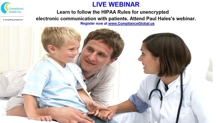 This webinar will teach you the HIPAA Rules for sending Protected Health Information (PHI) by electronic messages. These HIPAA Rules are clear & easy to follow but you are at great risk & directly liable for breaking them. Visit https://www.complianceglobal.us/product/700244