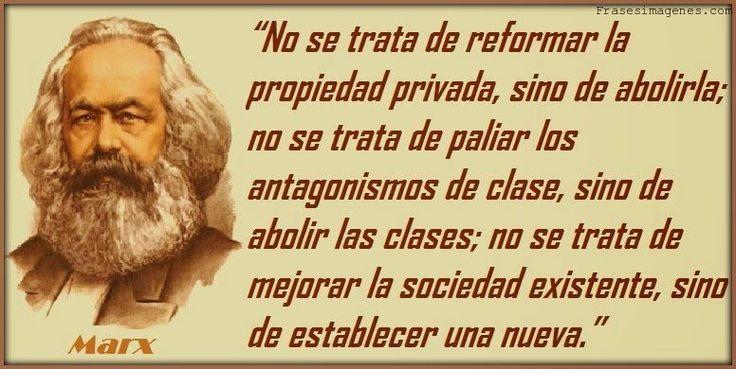 Frase Carlos Marx