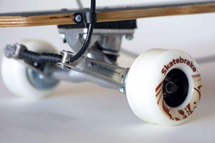 Longboard Skateboard Brake - Safe Braking System Have Fun Riding Downhill NEW