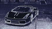 "New artwork for sale! - "" Lamborghini Gallardo Hamann by PixBreak Art "" - http://ift.tt/2nsFrPY"