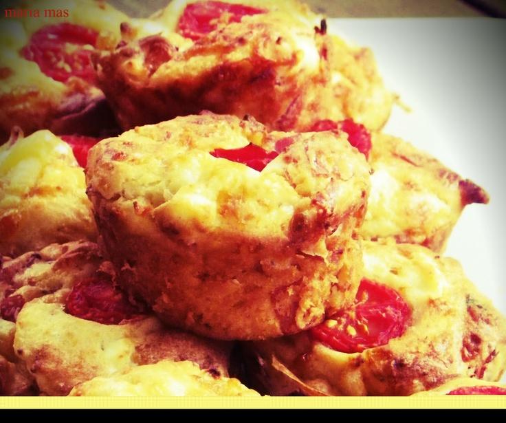 Αλμυρά muffins ~ una cucina