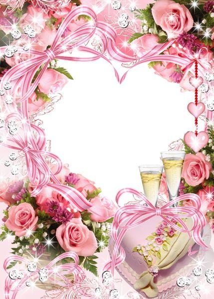 Wedding Anniversary Transparent Frame