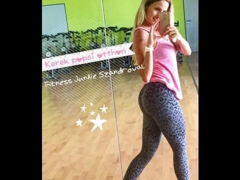 Kerek popsi otthoni edzés - Fitness Junkie
