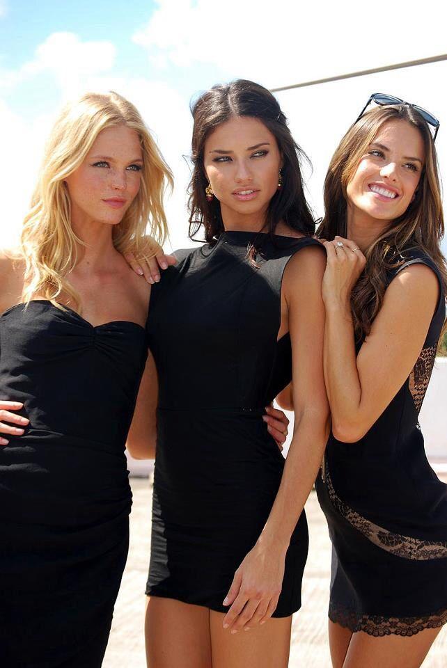 Black dress victoria secret uae