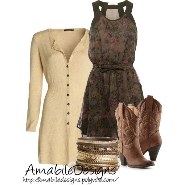 Country Fall by amabiledesigns on Polyvore featuring Pull&Bear, NIC+ZOE, Volatile and country