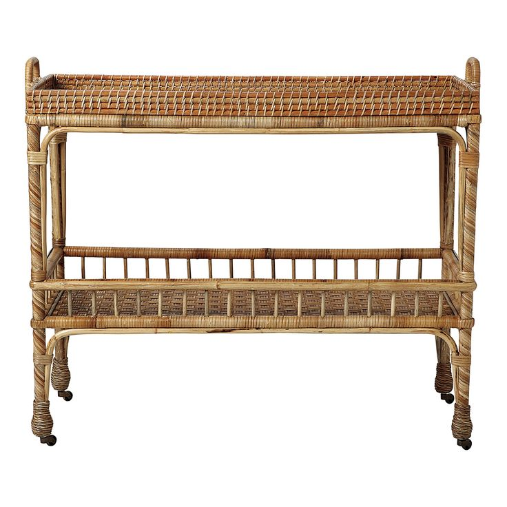 South Seas Bar Cart | Serena & Lily / Check out more items for your outdoor patio here - http://carlaaston.com/designed/outdoor-living-furniture-decor