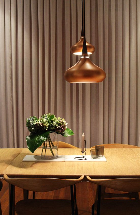 Cult | Sydney Showroom featuring Orient pendant lamps from Lightyears, CH88 chairs from Carl Hansen & Son and accessories from HAY.