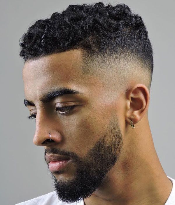 Curly Hair Fade Best Curly Taper Fade Haircuts For Men 2020 Guide Mens Short Curly Hairstyles Curly Hair Men Male Haircuts Curly