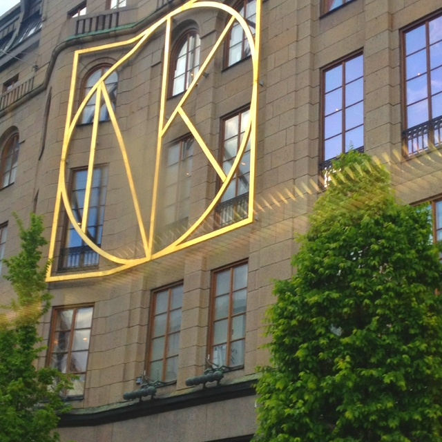 NK Department Store in Stockholm.