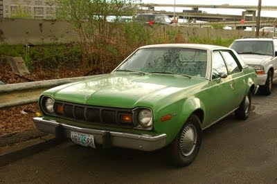 1977 amc hornet - just like my first car except mine was hunter green & a coupe
