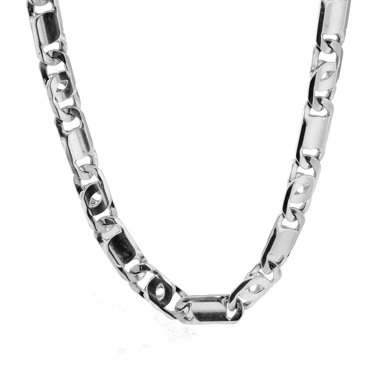White Gold Necklace For Men - http://www.inspirationsofcardiff.com/white-gold-necklace-for-men/
