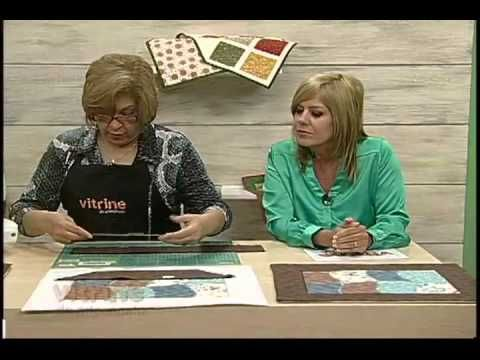 Patchwork com Ana Cosentino - Vitrine do Artesanato na TV - YouTube