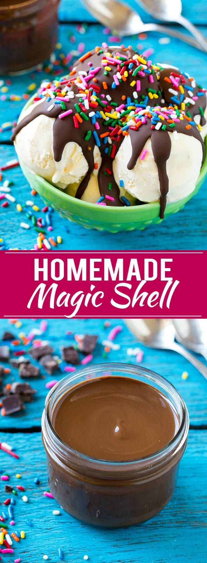 Homemade Magic Shell Recipe | Chocolate Ice Cream Topping | Chocolate Sauce | Hard Chocolate Coating