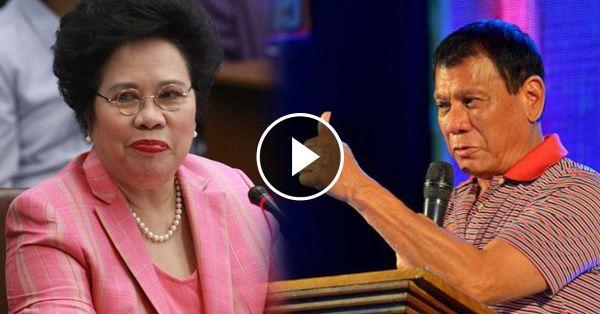 [Trending Now] Sen. Miriam Defensor-Santiago Praised Duterte On The Pilipinas Debate 2016! What She Said Was Amazing!