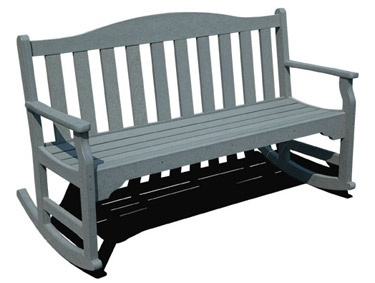 Plastic Patio Furniture, Outdoor Furniture, Outdoor Benches, Garden Benches,  Furniture Online, Rocking Chairs, Porch Ideas, Front Porch, Outdoor Living