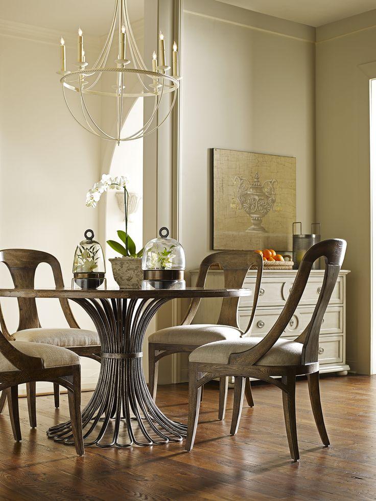 Meridian Dining Table Parisian Side Chair Simone