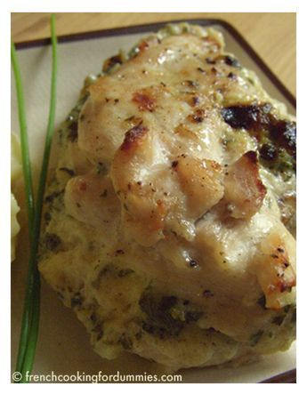Herbed mascarpone stuffed chicken I French Cooking for Dummies / Easy recipes and more