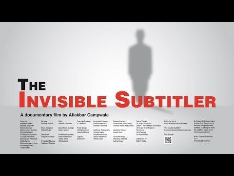 ▶ The Invisible Subtitler - A Documentary (SDH Subtitles included) - YouTube